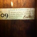 Bookers 25th anniversary bourbon quote 09