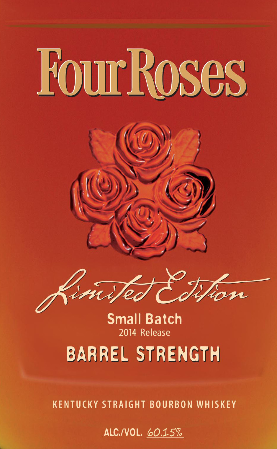 2014 four roses small batch limited edition