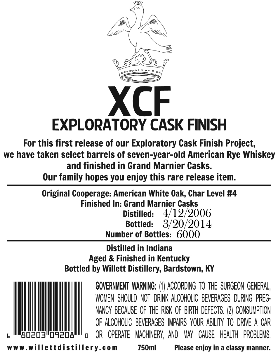 WFE XCF Grand Marnier Casks-Back