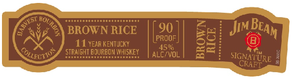 Jim Beam Harvest Collection - Brown Rice
