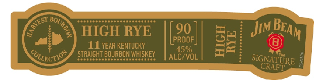 Jim Beam Harvest Collection - High Rye