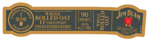 Jim Beam Harvest Collection - Whole Rolled Oat