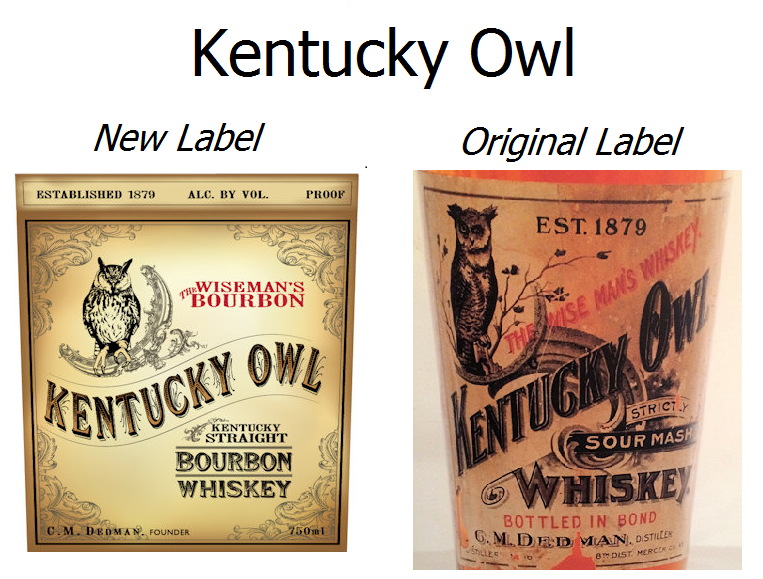 kentucky owl old vs new