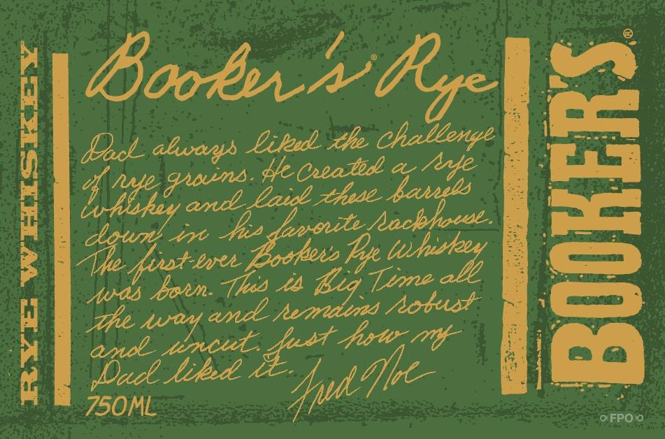 Booker's rye