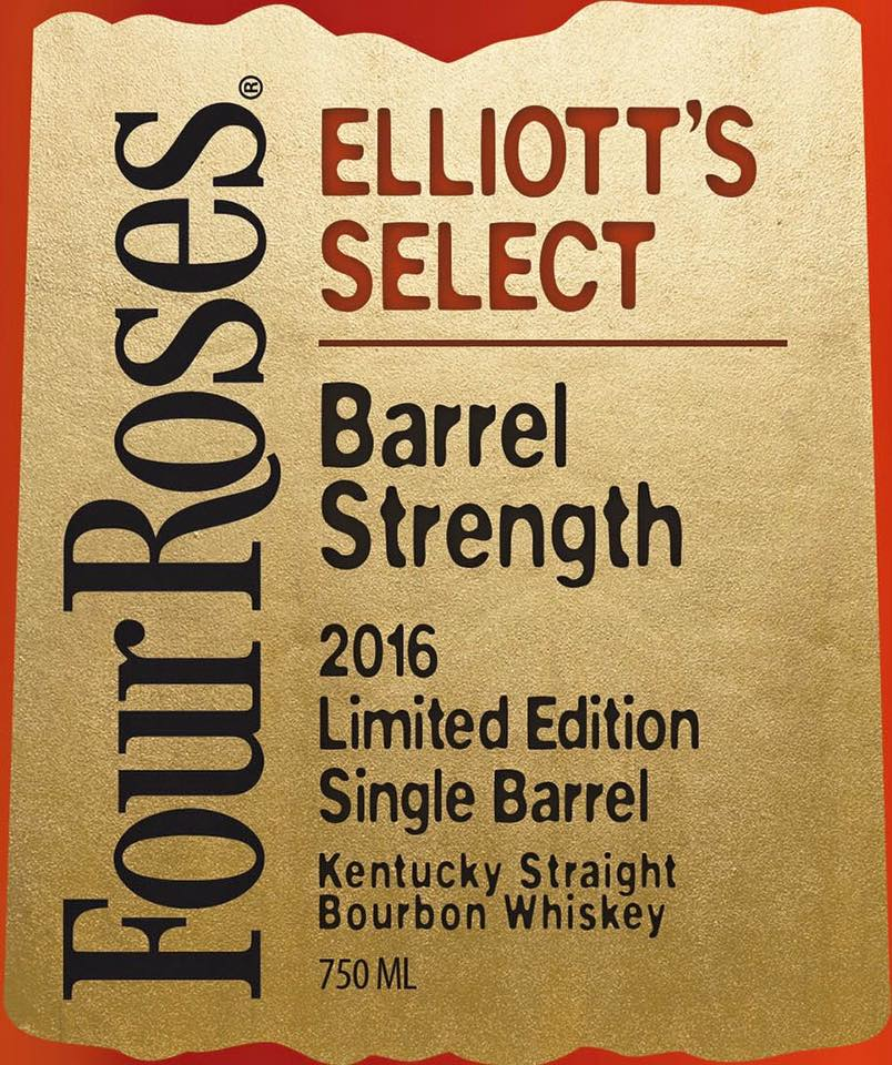 2016 Four Roses Single Barrel Limited Edition