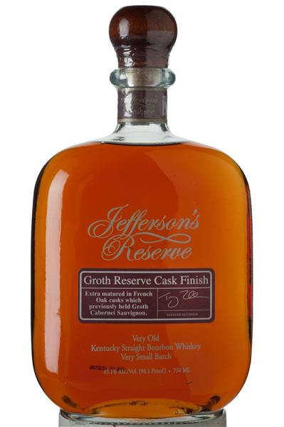Jefferson reserve groth cask review