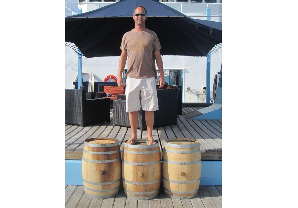 Trey-with-Ocean-Bourbon-Barrels