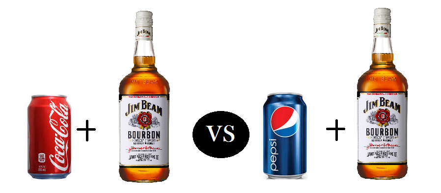 Jack and coke or pepsi