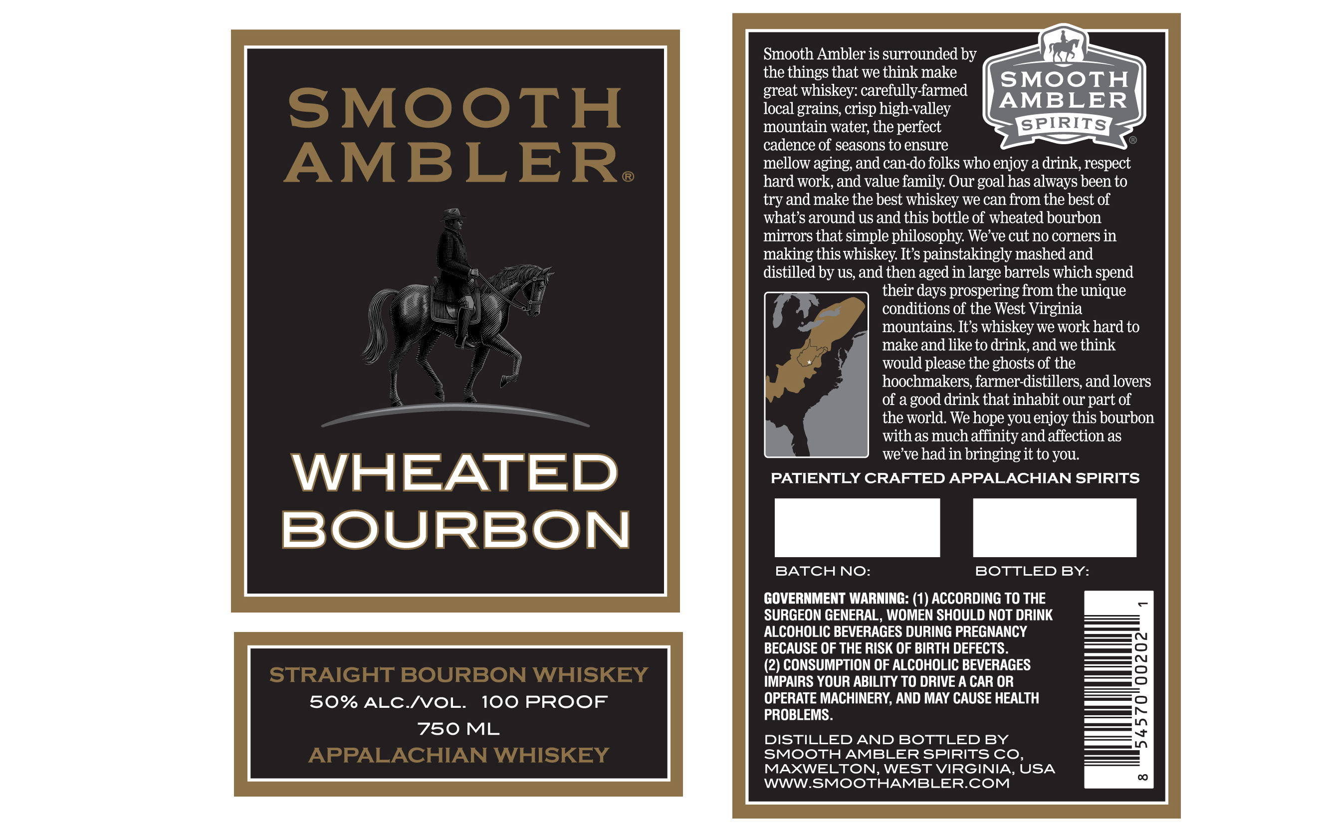 Smooth Ambler wheated bourbon