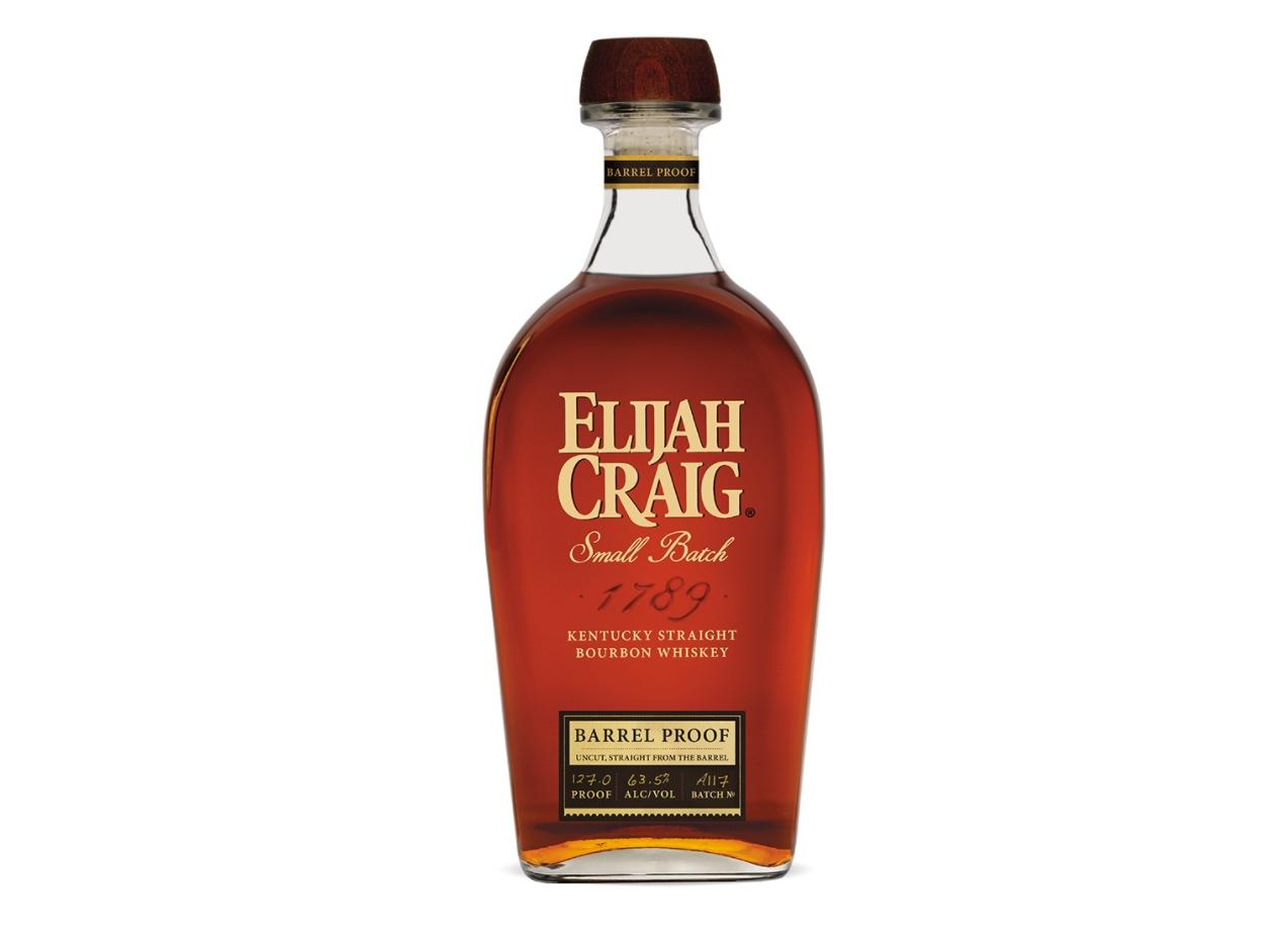 Image result for Elijah Craig Single Barrel Proof bottle